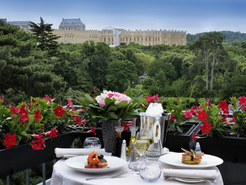Vue Trianon Palace Versailles